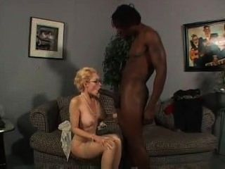 Fucking The Ass Of The Tasty Blonde Milf