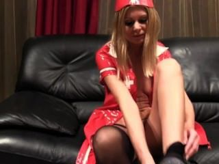 Jenna Dancing, Striptease And Stocking Clip