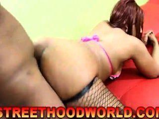 Thick Ebony Tina Street Hood World