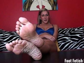 Foot Fetish Humiliation From Your Bratty Hot Step Sister