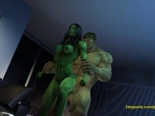She Hulk He - There Is Nothing Like Crazy Angry Sex!