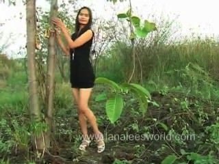 Filipina Going Back To Nature