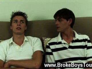 Gay Porn Futon Stretched And Both Dudes Oiled Up And Ready, Ashton Got