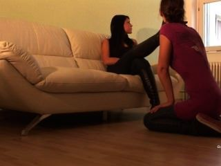 Chanel Lesbian Foot Slave
