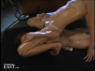 Japanese Femdom Dominates Lesbian Submissive With Face Sitting And Oil Sex