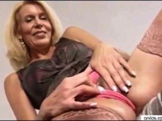 Milf Erica Lauren Masturbates And Fantasizes About Young Cock