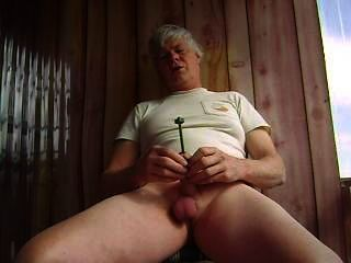 Mr Masturbate Sounds His Penis With A Steel Rod