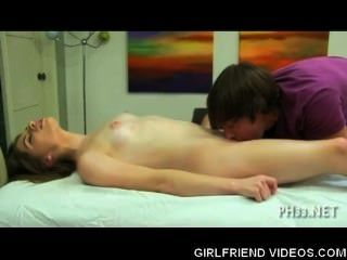 Cutie Getting Railed On Massage Table