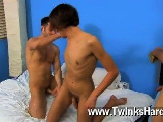 Hot Twink Dean Holland And Nathan Stratus Both Take Turns Servicing