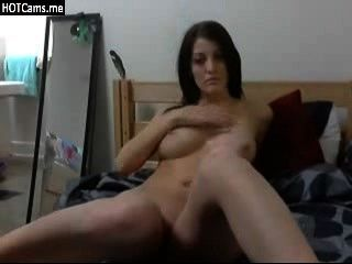 Hot Busty Whore Fingering