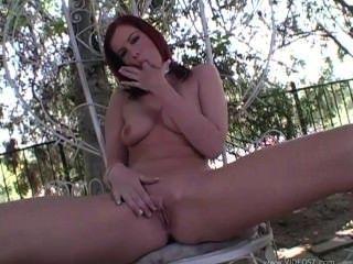 Hot Redhead Masturbating !!!