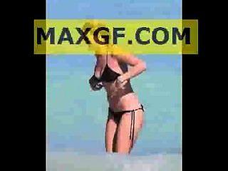 Alice Eve Hot Bikini Compilation