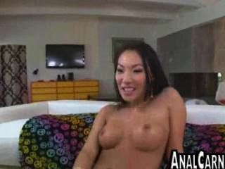 Big Tit Asian Milf Gets Ass Fucked
