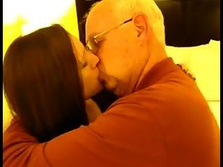 Cockhold - Wife Kissing Old Man