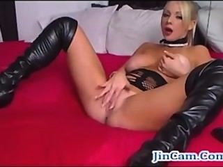 Blonde Cam Girl Squirting Free Masturbation Webcam Show