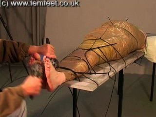 Granny Foot Tickled 2