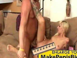 Blonde Maid Emma Mae Gets Fucked