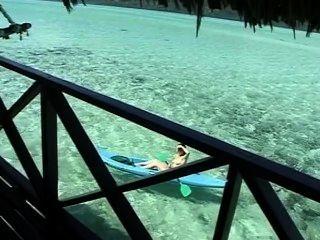 Alisha Klass, 2 - Tushy Tahitian Style