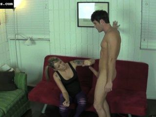 Handjob With Ballbusting-2