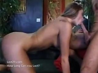 Monica Gets A Double Cock