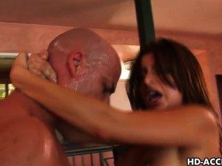 Latino Pornstar Sativa Rose Gets Her Teen Ass Fucked