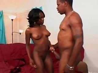 Ebony Babe Fucks Bbc