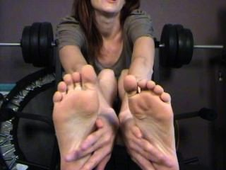 You Really Know How To Tickle My Feet
