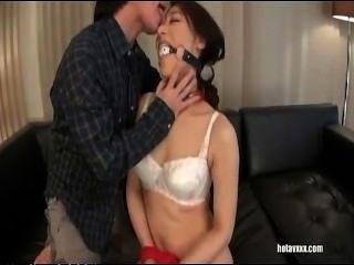 Japanese Beauty Close-up Office Masturbating Orgasm