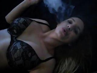 Hot Cigar Girl