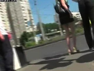Hot Russian Upskirt