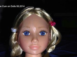 Cum On My Doll - Cumshoot On Doll