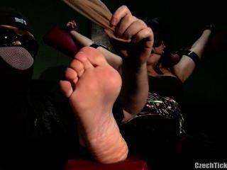 Foot Tickled Real Estate Agent Nina