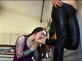 Lesbian Feet Slave