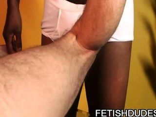 Tj Gold And Hole Hunter: Black Dude Playing With White Ass