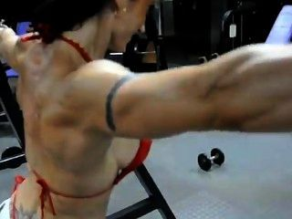 Shoulder Training Of Raquel Hernandez Olmo