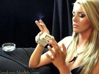 Simone Smoking