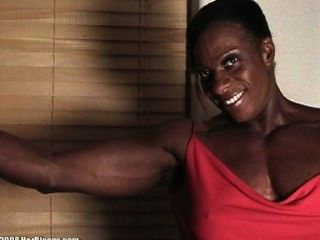 Female nude bodybuilder fuck expression, dildo ass cock pussy