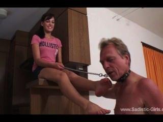 Goddess Feet Lick Slave