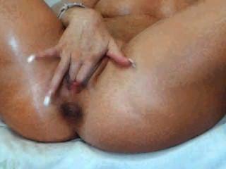 Webcam Girl Fingers Her Pussy