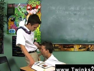 Gay Twinks Dustin Revees And Leo Page Are 2 Schoolboys Stuck In
