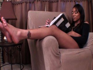 Ebony Foot Worship 2