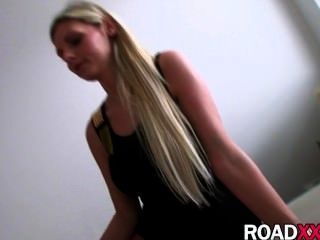 Hot Amateur Blonde Gets Fucked