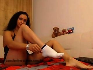 Webcam Slut - Feet Socks Nylons  Webcams