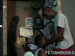 Jd Daniels - Black On Black Fetish Toilet Humiliation