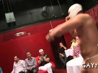 Sucking A Huge Stripper Cock