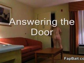 Sexy Milf Pizza Slut Answers Naked!