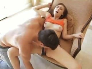 Hot Amateur Works Hard Cock