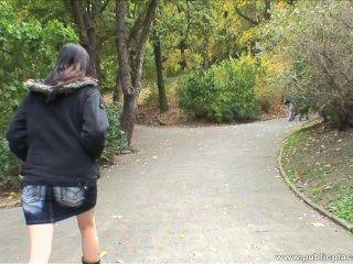 2009-12-21 Monika - Fucked In The Park