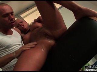 Big Tits Blonde Likes It Rough