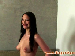 Real Sex Audition Raven Gets Fucked